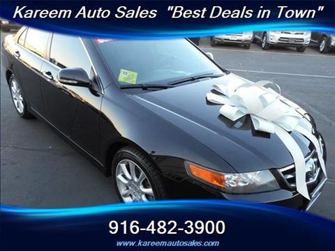 2008 Acura TSX for sale in Sacramento, CA