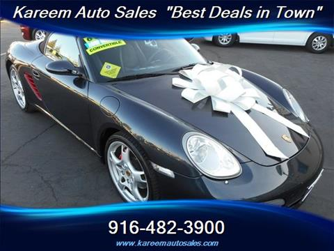 2006 Porsche Boxster for sale in Sacramento, CA