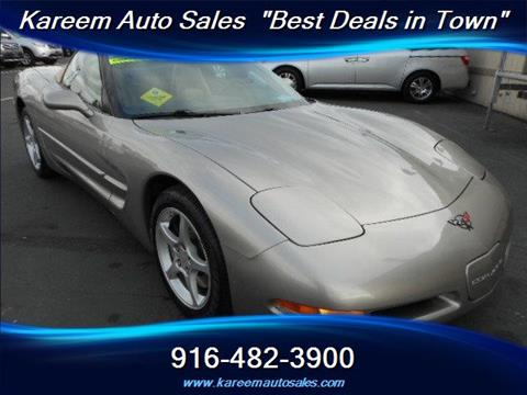 2001 Chevrolet Corvette for sale in Sacramento, CA