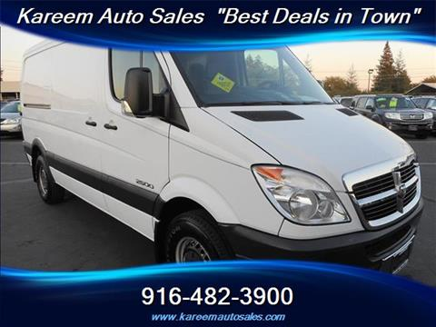 2008 Dodge Sprinter Cargo for sale in Sacramento, CA