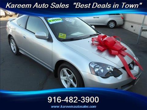 2002 Acura RSX for sale in Sacramento, CA
