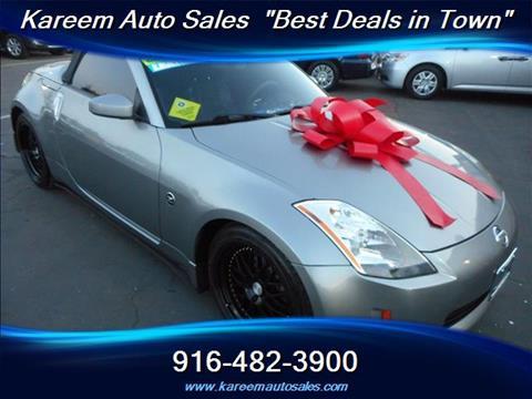 2004 Nissan 350Z for sale in Sacramento, CA