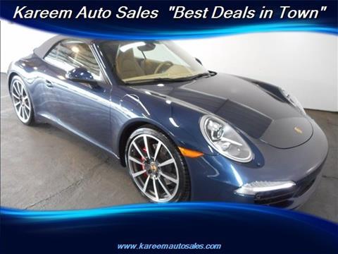 2013 Porsche 911 for sale in Sacramento, CA