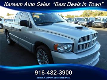 2005 Dodge Ram Pickup 1500 SRT-10 for sale in Sacramento, CA