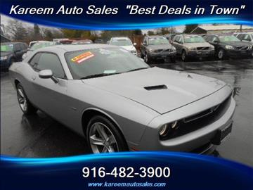 2015 Dodge Challenger for sale in Sacramento, CA