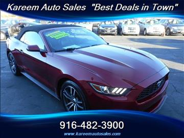 2016 Ford Mustang for sale in Sacramento, CA