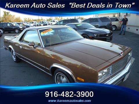 1985 GMC Caballero for sale in Sacramento, CA