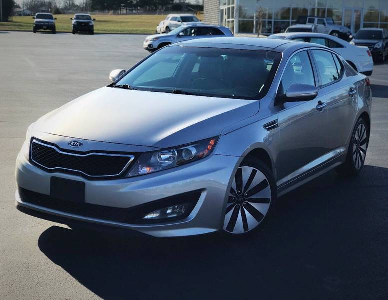 2012 Kia Optima SX Turbo 4dr Sedan 6A   Morristown TN