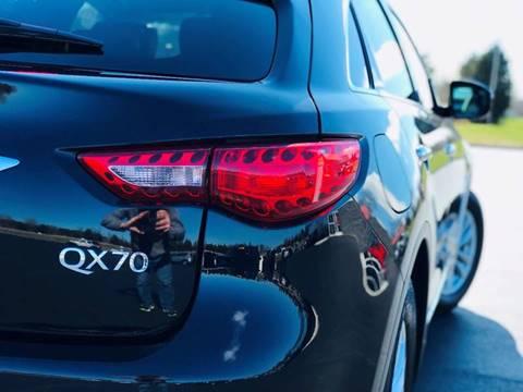 2017 Infiniti Qx70 AWD 4dr SUV In Morristown TN - Parkway ...