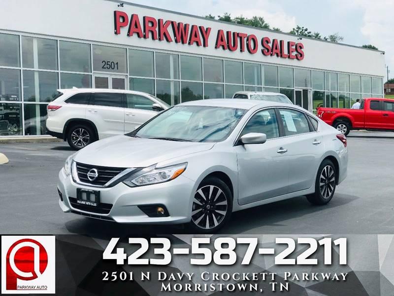 Parkway Auto Sales >> 2018 Nissan Altima 2 5 Sv 4dr Sedan In Morristown Tn
