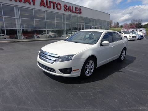 2012 Ford Fusion for sale in Morristown, TN