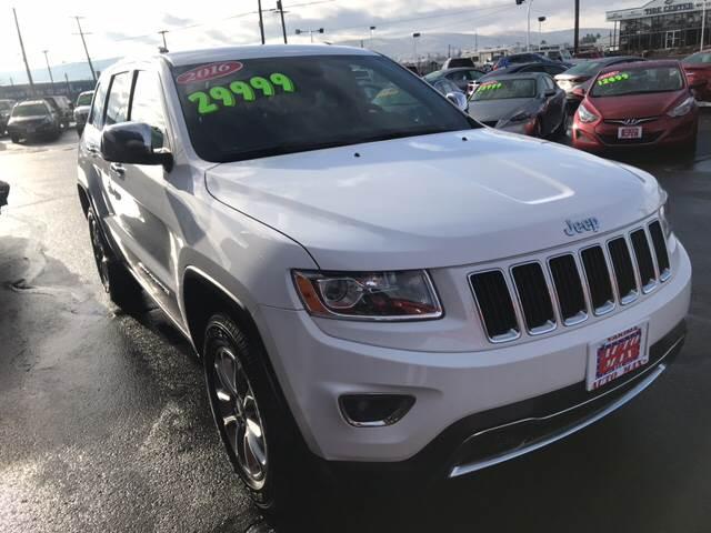 2016 Jeep Grand Cherokee 4x4 Limited 4dr Suv In Yakima Wa Auto