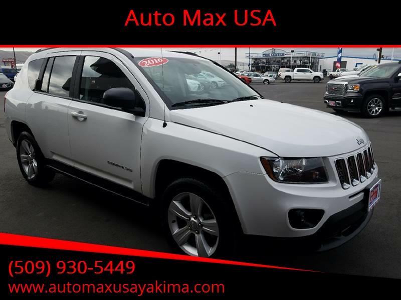 2017 Jeep Compass for sale at Auto Max USA in Yakima WA
