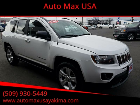 2017 Jeep Compass for sale at Auto Max USA in Yakima WA
