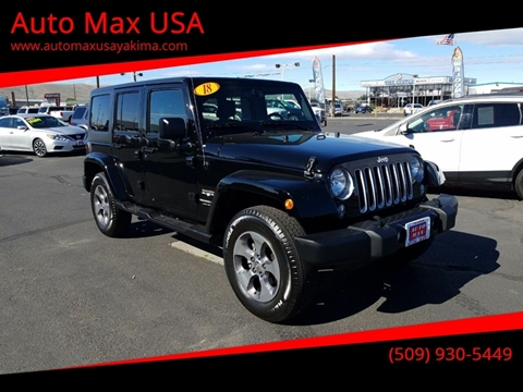 2018 Jeep Wrangler Unlimited for sale in Yakima, WA