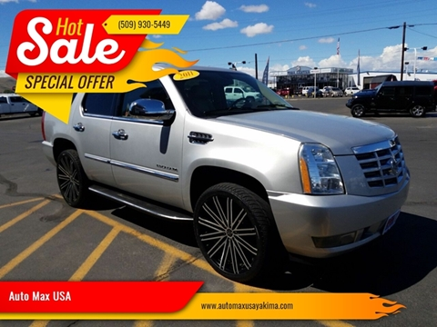 2011 Cadillac Escalade for sale at Auto Max USA in Yakima WA