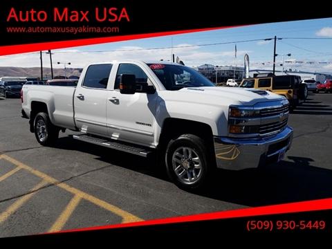 2017 Chevrolet Silverado 3500HD for sale at Auto Max USA in Yakima WA