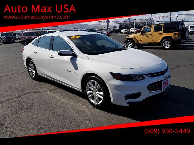 2018 Chevrolet Malibu for sale at Auto Max USA in Yakima WA