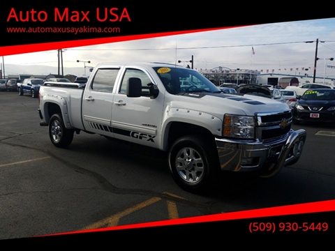 2011 Chevrolet Silverado 3500HD for sale at Auto Max USA in Yakima WA