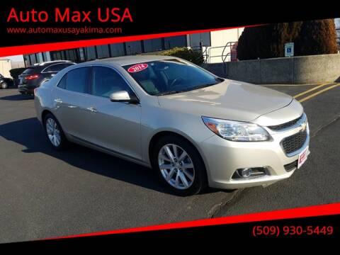 2014 Chevrolet Malibu for sale at Auto Max USA in Yakima WA