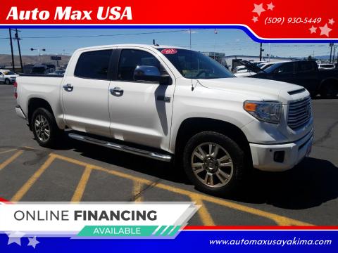 2014 Toyota Tundra for sale at Auto Max USA in Yakima WA