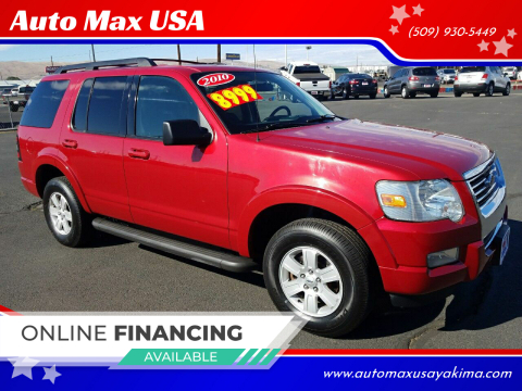 2010 Ford Explorer for sale at Auto Max USA in Yakima WA