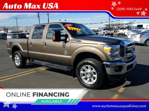 2016 Ford F-350 Super Duty for sale at Auto Max USA in Yakima WA