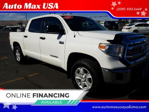 2017 Toyota Tundra for sale at Auto Max USA in Yakima WA