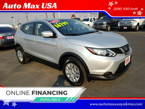 2018 Nissan Rogue Sport for sale at Auto Max USA in Yakima WA