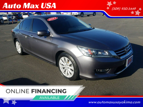 2013 Honda Accord for sale at Auto Max USA in Yakima WA