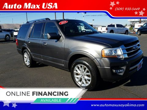 2016 Ford Expedition for sale at Auto Max USA in Yakima WA