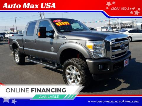 2015 Ford F-350 Super Duty for sale at Auto Max USA in Yakima WA