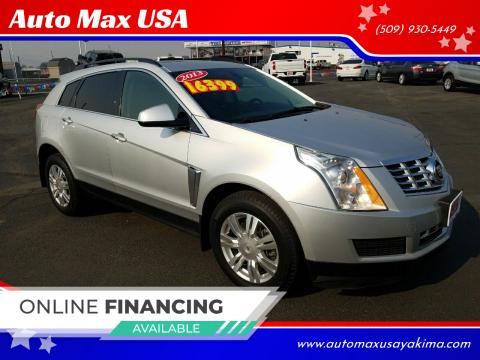 2013 Cadillac SRX for sale at Auto Max USA in Yakima WA