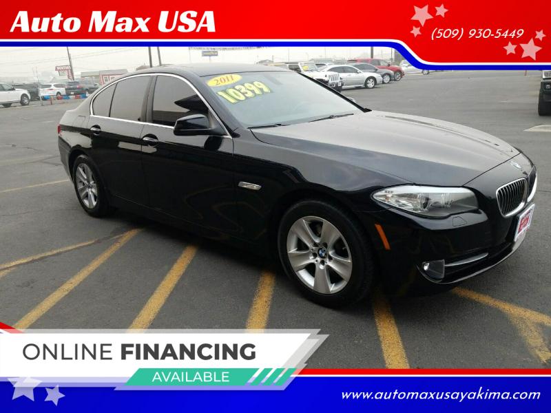 2011 BMW 5 Series for sale at Auto Max USA in Yakima WA