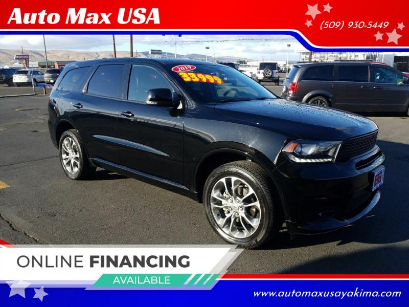 2019 Dodge Durango for sale at Auto Max USA in Yakima WA