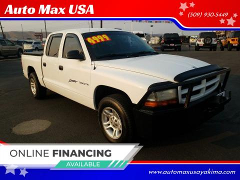 2001 Dodge Dakota for sale at Auto Max USA in Yakima WA