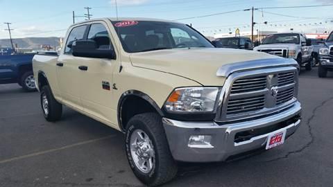 2012 RAM Ram Pickup 2500 for sale at Auto Max USA in Yakima WA
