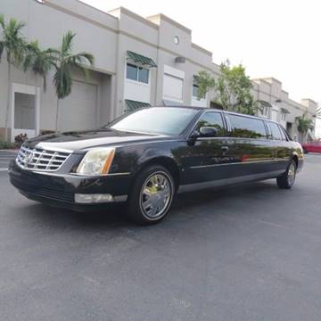 2007 Cadillac DTS for sale in Pompano Beach, FL