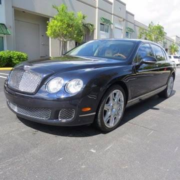 2012 Bentley Continental Flying Spur for sale in Pompano Beach, FL