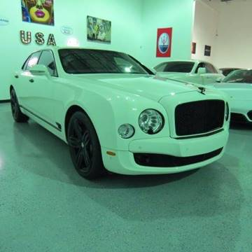 2013 Bentley Mulsanne for sale in Pompano Beach, FL