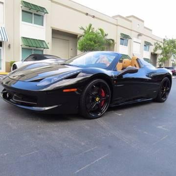 2013 Ferrari 458 Spider For Sale In Pompano Beach, FL