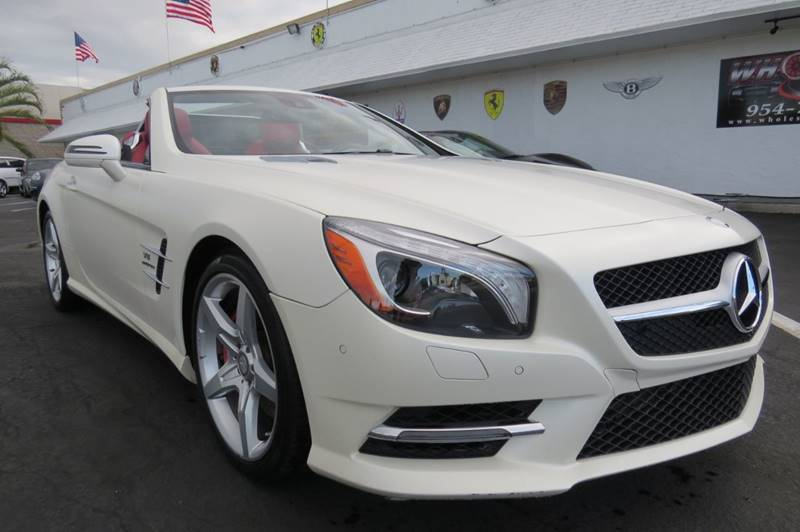 2014 Mercedes Benz SL Class For Sale At Wholesale Auto Group In Fort  Lauderdale