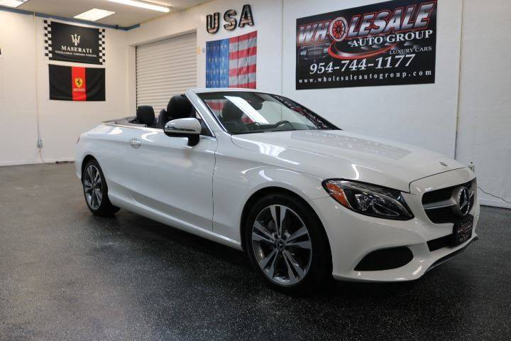 2018 Mercedes Benz C Class For Sale At Wholesale Auto Group In Fort  Lauderdale