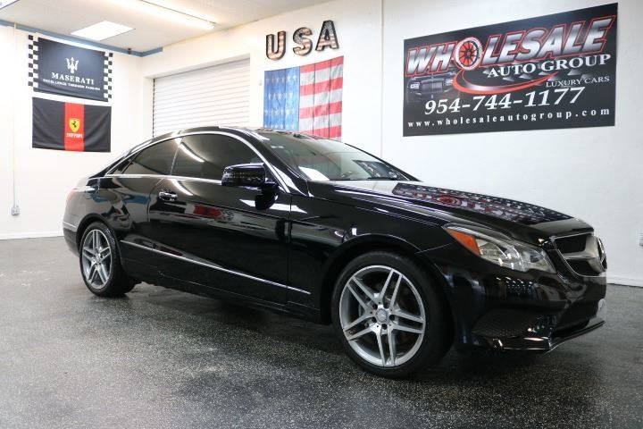 2014 Mercedes Benz E Class For Sale At Wholesale Auto Group In Fort  Lauderdale