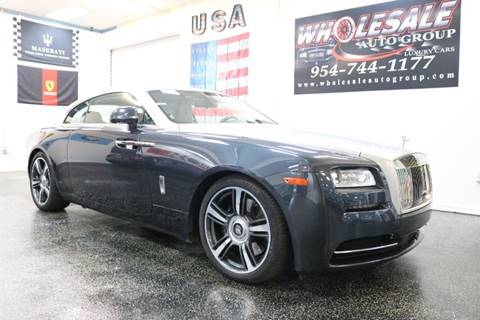 rolls royce wraith for sale in florida. Black Bedroom Furniture Sets. Home Design Ideas