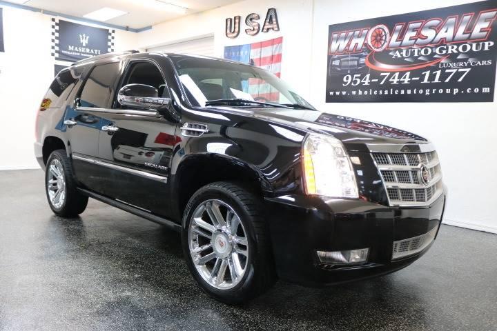 2014 Cadillac Escalade Platinum In Fort Lauderdale Fl Wholesale