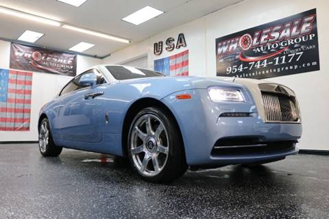 used rolls-royce wraith for sale in fort lauderdale, fl