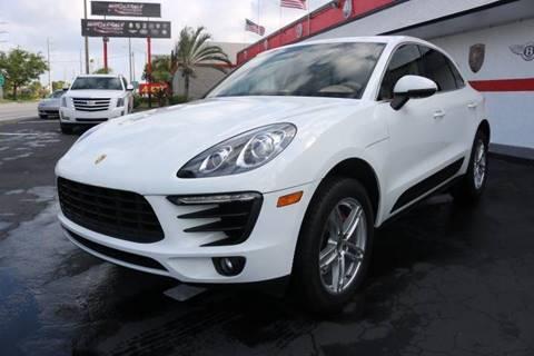 2016 Porsche Macan for sale in Fort Lauderdale, FL