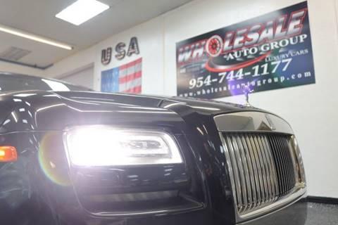 2014 Rolls-Royce Ghost for sale in Fort Lauderdale, FL