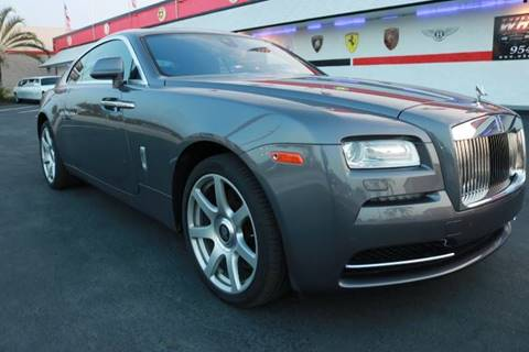 Rolls Royce Wraith For Sale >> 2016 Rolls Royce Wraith For Sale In Fort Lauderdale Fl